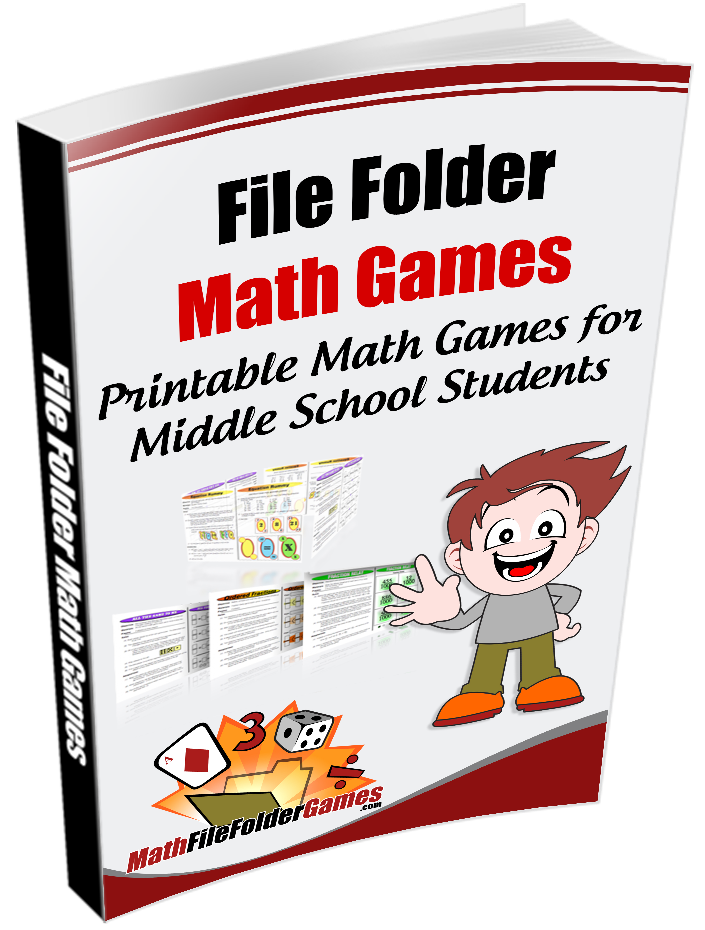 image relating to Printable File Folder Games identify 42 printable math video games for higher fundamental and middles university college students, simple-in the direction of-set up for any math -