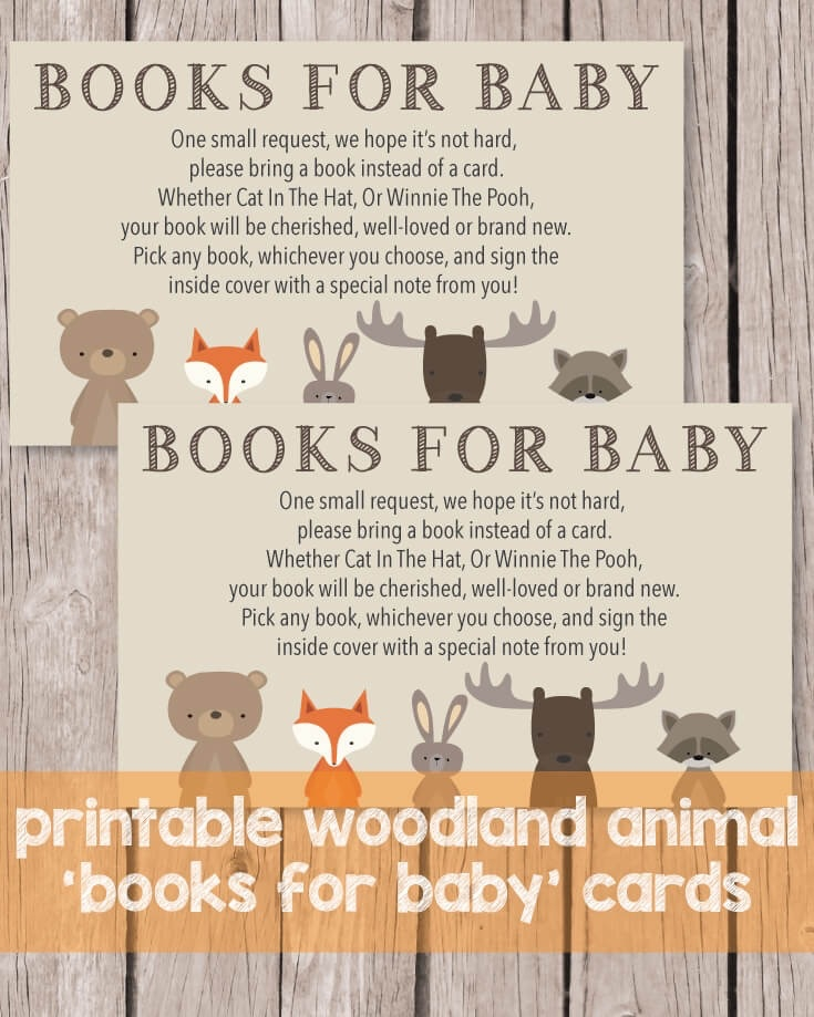 photo about Printable Woodland Animals identified as Printable Textbooks For Youngster Playing cards - Woodland Pets Concept - Print It Kid