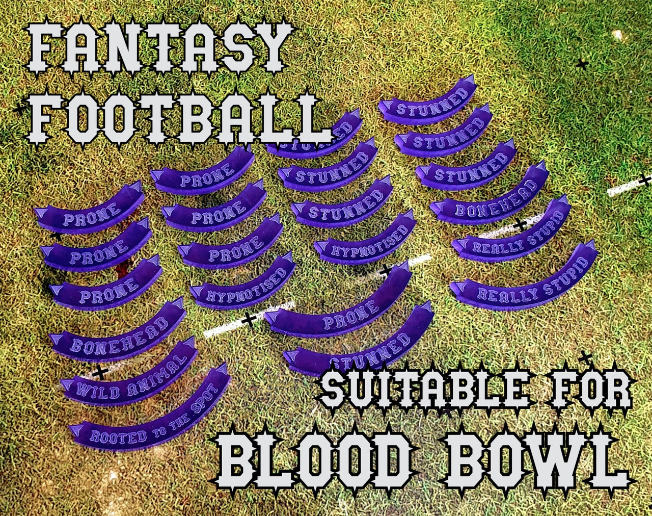 Fantasy Football - Suitable for Blood Bowl
