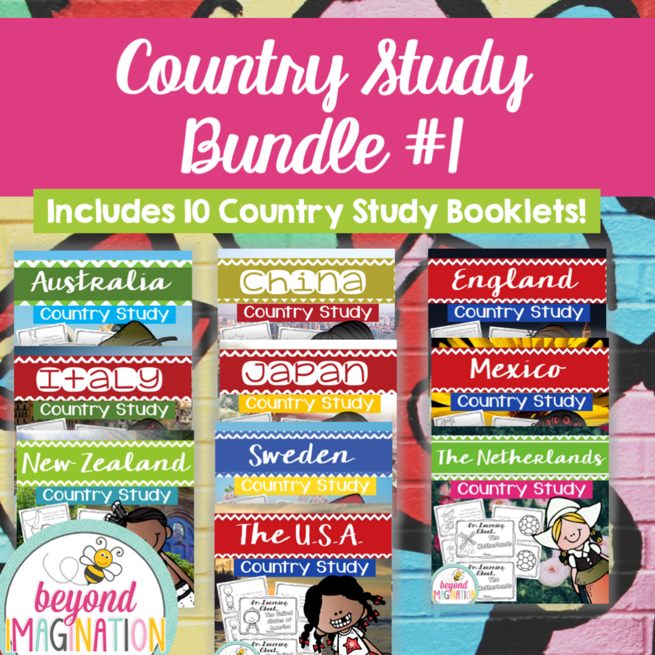 Country Study Bundle One