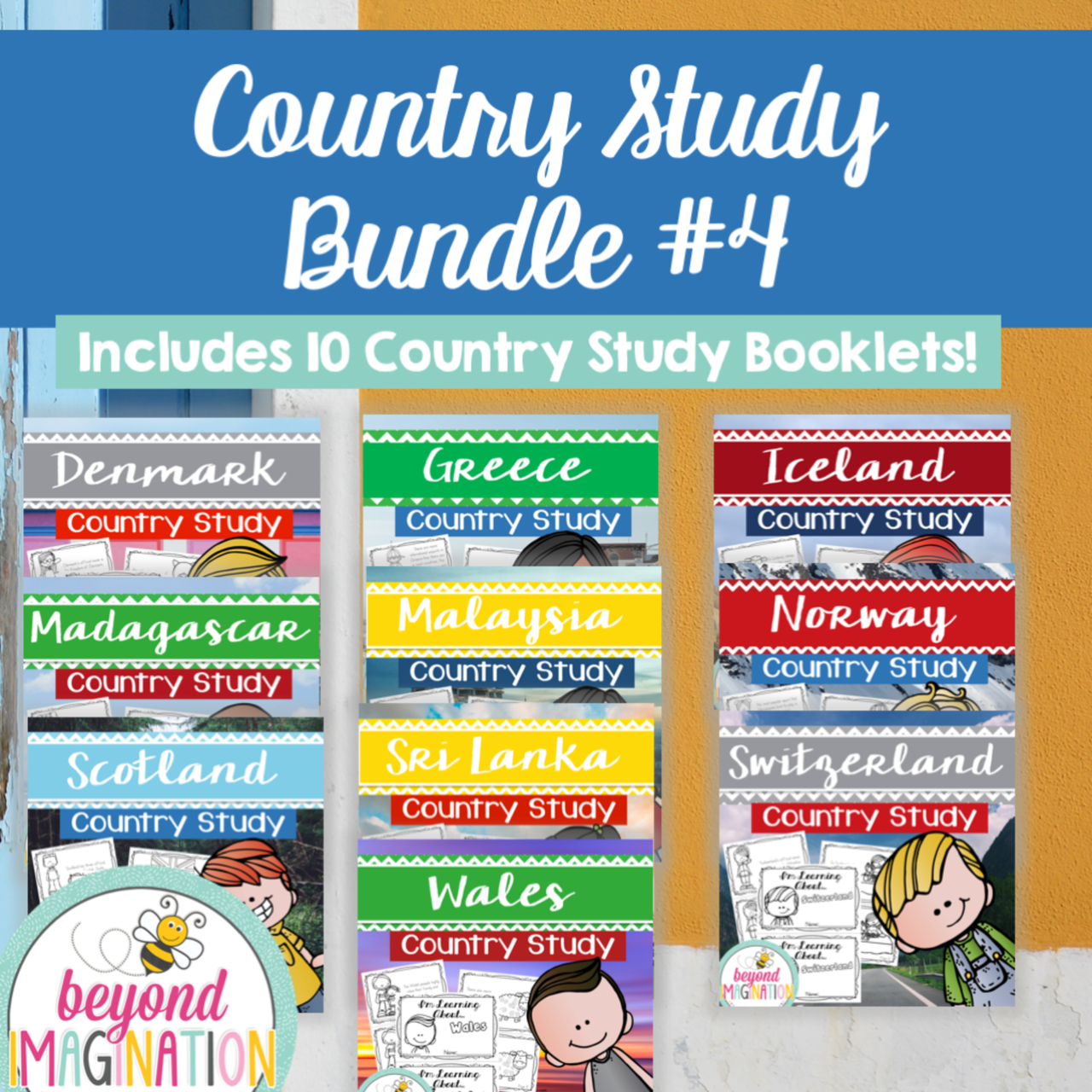 Country Study Bundle Four
