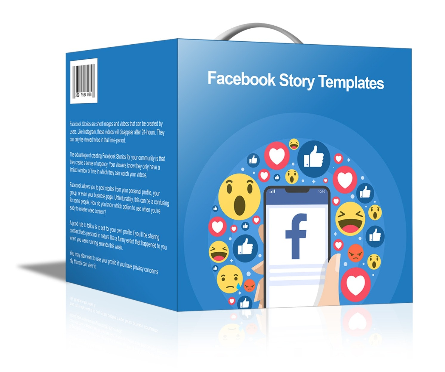 Facebook Story Templates - DigiBank