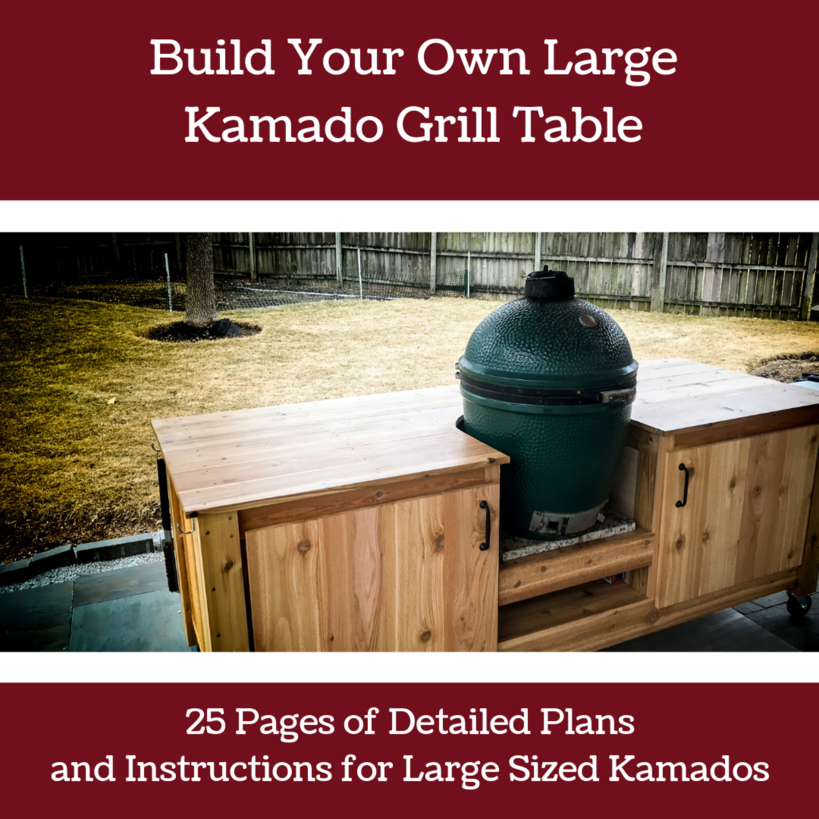 Build your own Big Green Egg Table | Seared and Smoked