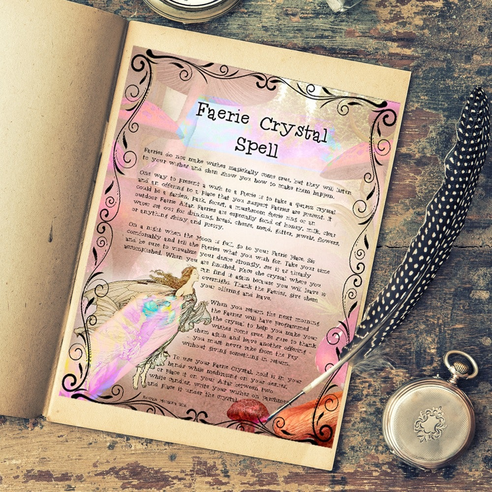 Faerie Lore and Spells - Morgana Magick Spell