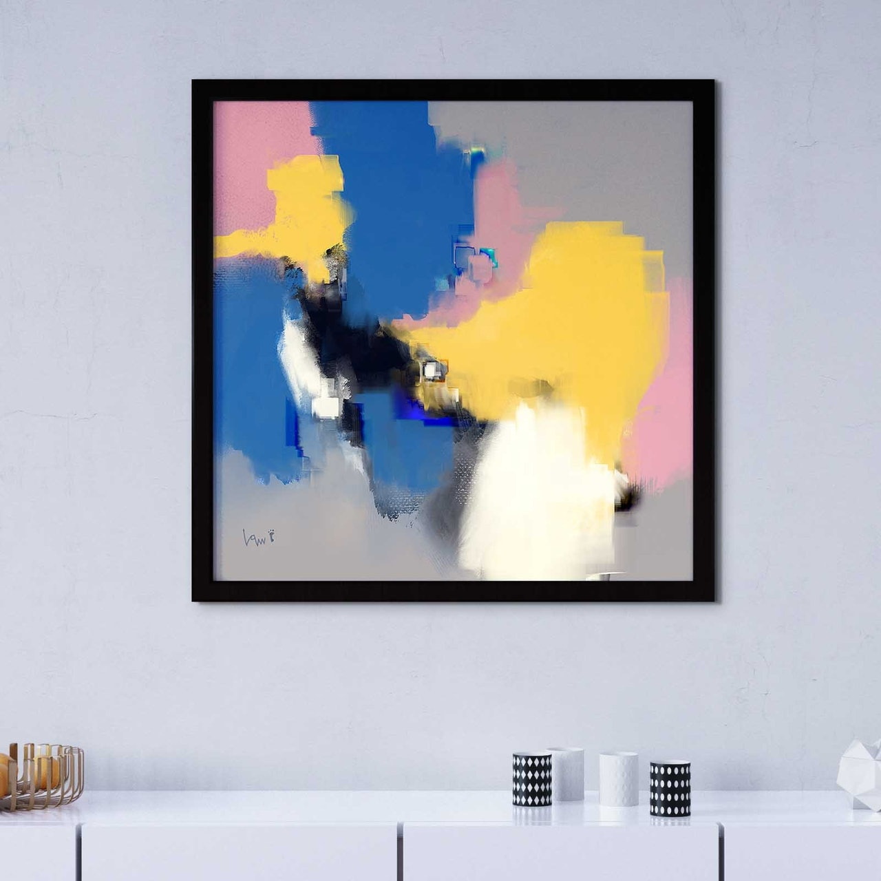 Pay What You Want Large Abstract Art Print