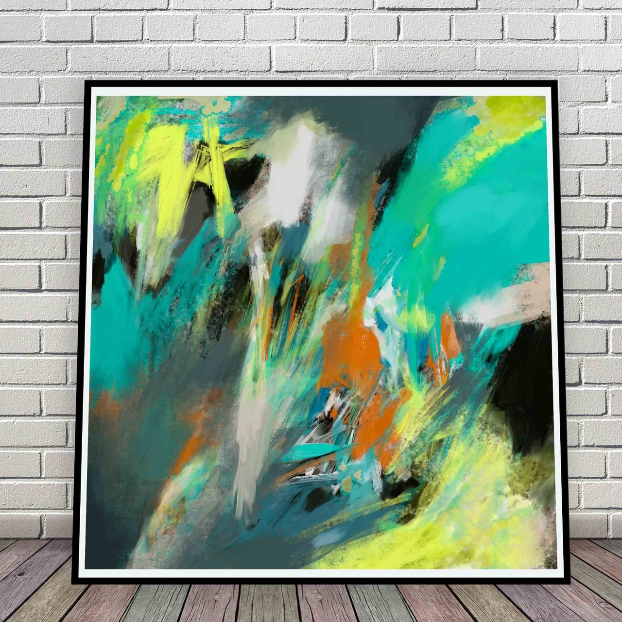 Pay What You Want Large Abstract Downloadable Art Print
