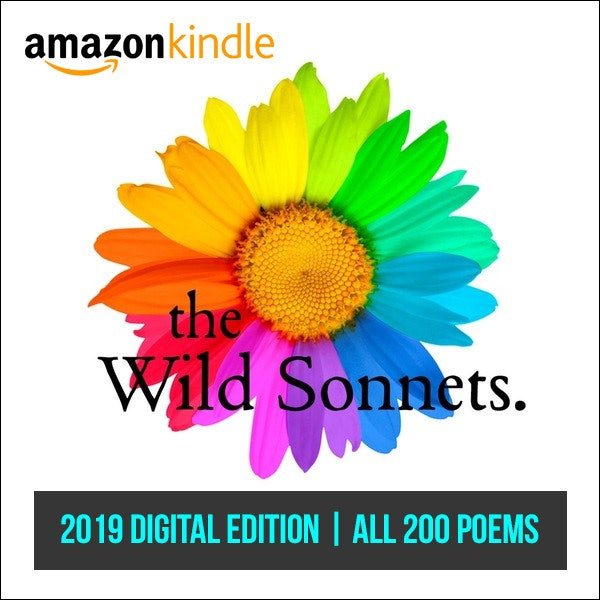 The Wild Sonnets: 2019 Digital Edition (1-200) | Kindle Format