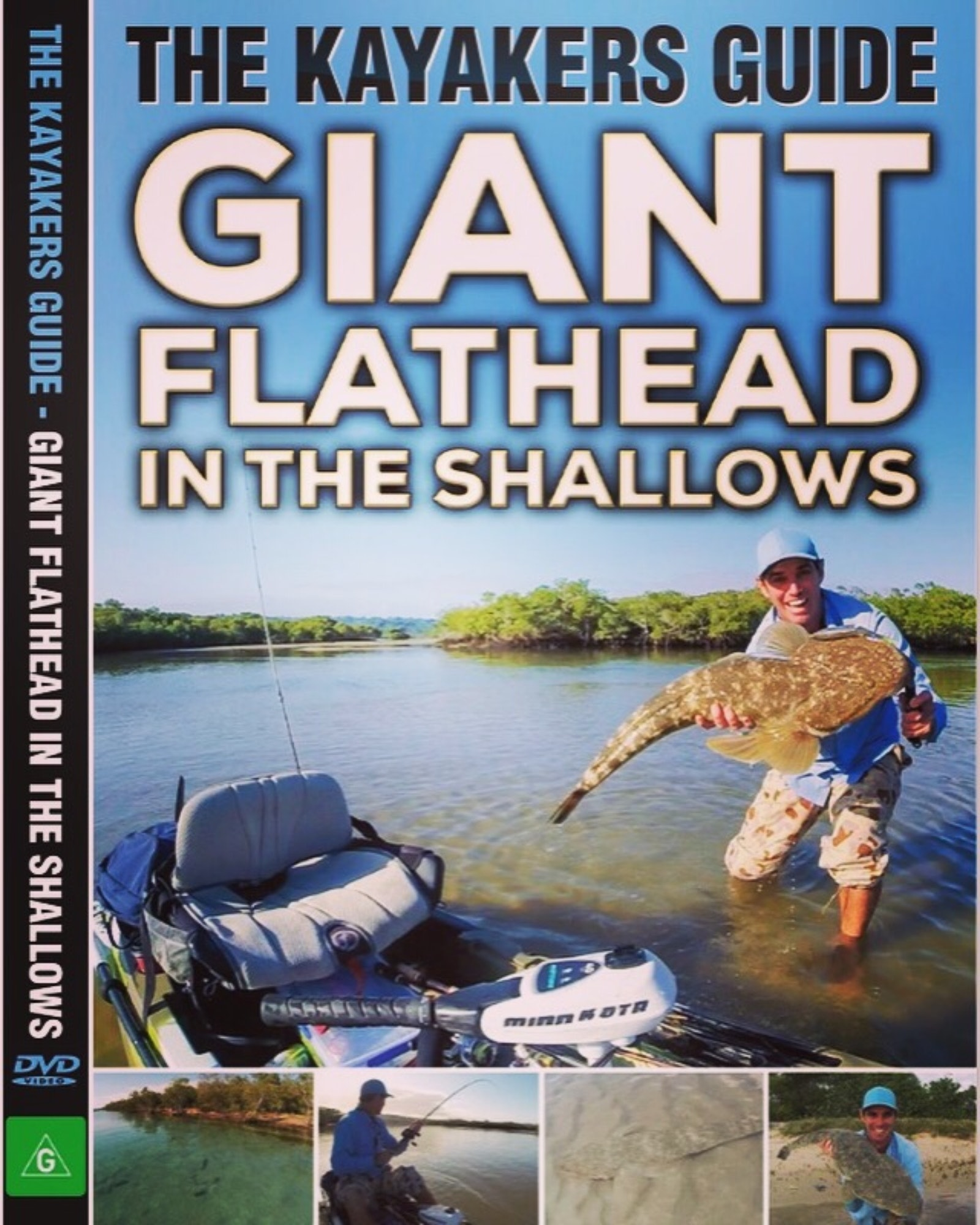The Kayakers Guide - Giant Flathead in The Shallows DVD - John Costello