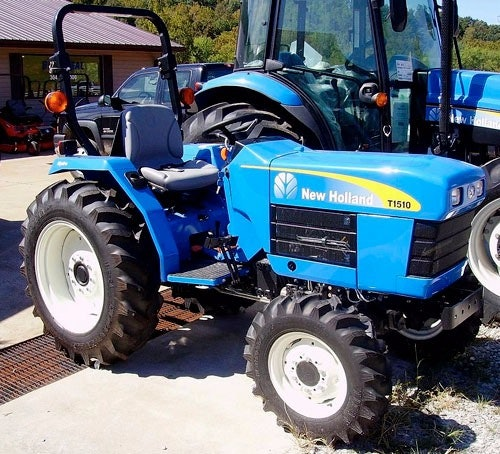 New Holland T1510, T1520 Tractor Service Manual - manualvault