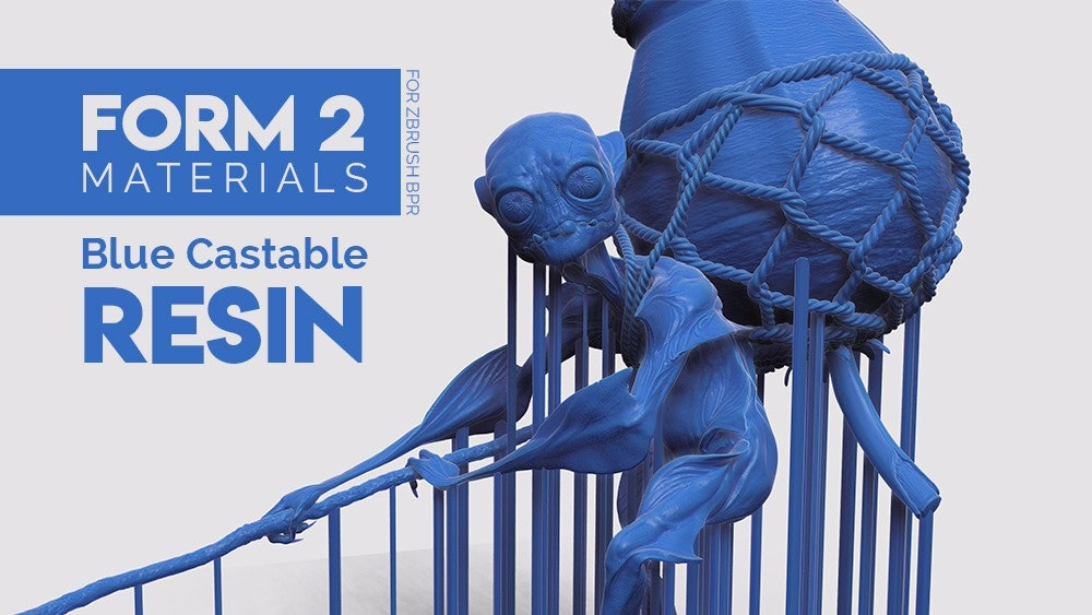 ZBrush FORM Materials Pack - Zbrush Guides