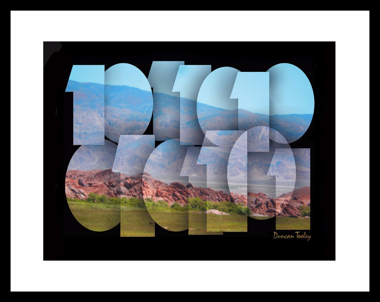 Binary Alabama Hills Print