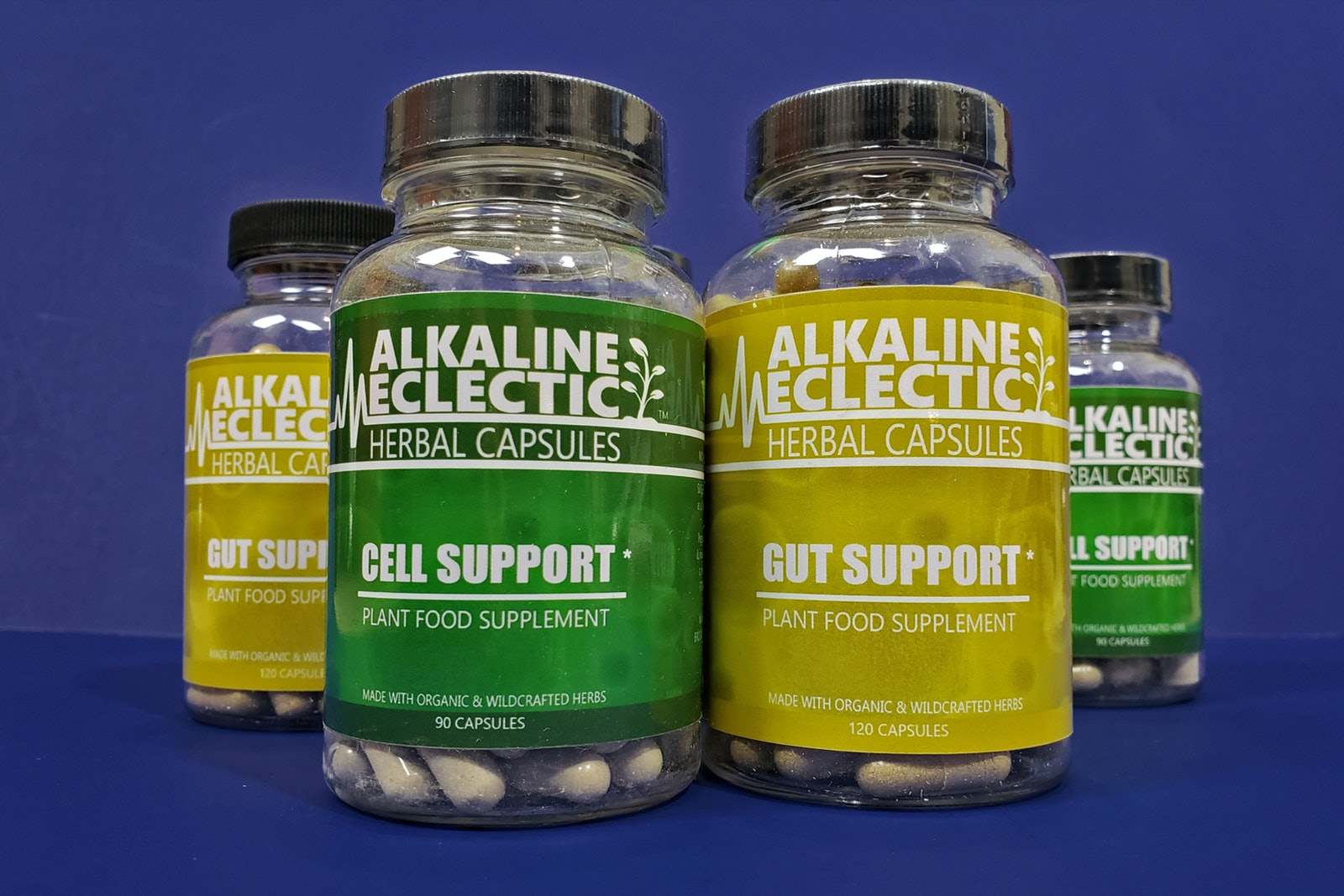 CELL SUPPORT HERBAL CAPSULES - ALKALINE ECLECTIC DIGITAL STORE